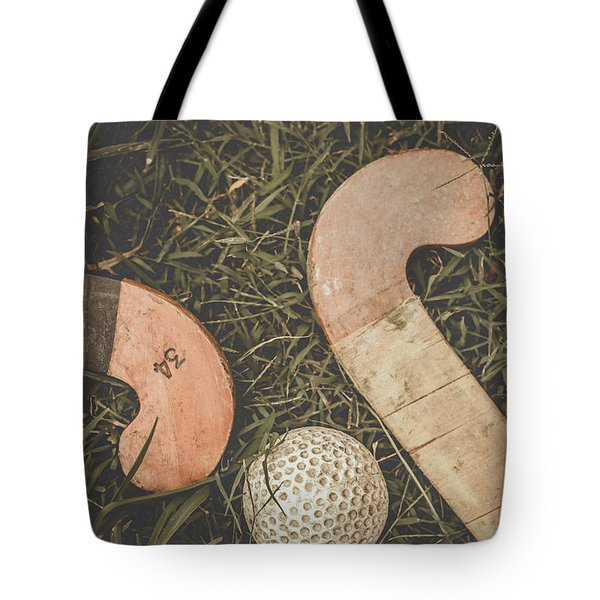 Tote Bag featuring the photograph Vintage Hockey by Jorgo Photography - Wall Art Gallery