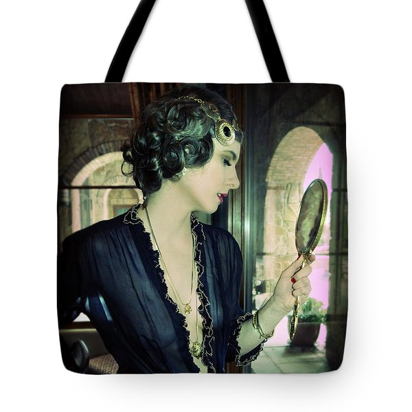 Tote Bag featuring the photograph Vintage Brit by Gregg Cestaro