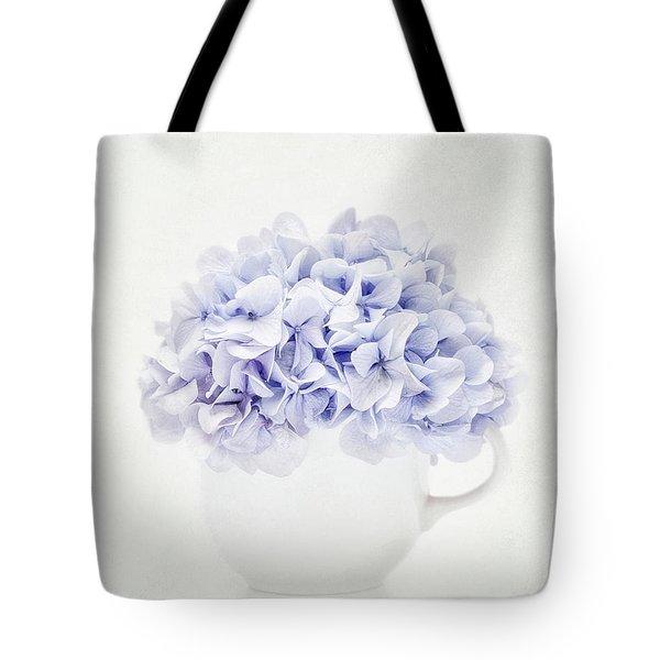 Vintage Hydrangea Tote Bag