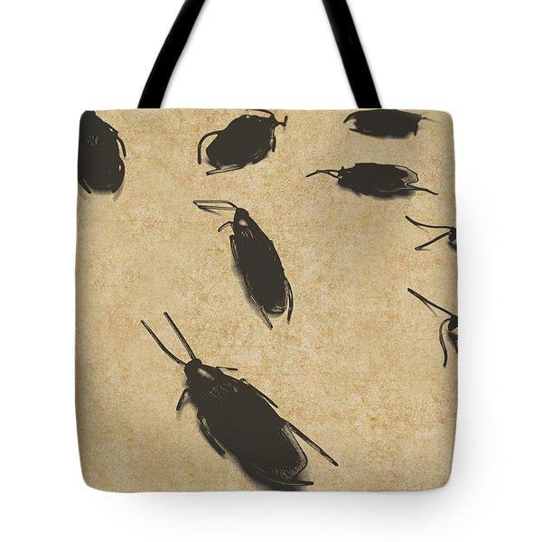 Vintage Infestation Tote Bag