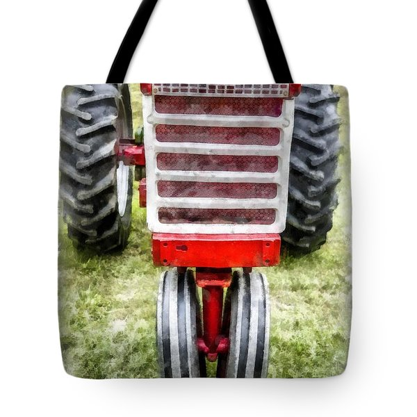 Vintage International Harvester Tractor Tote Bag