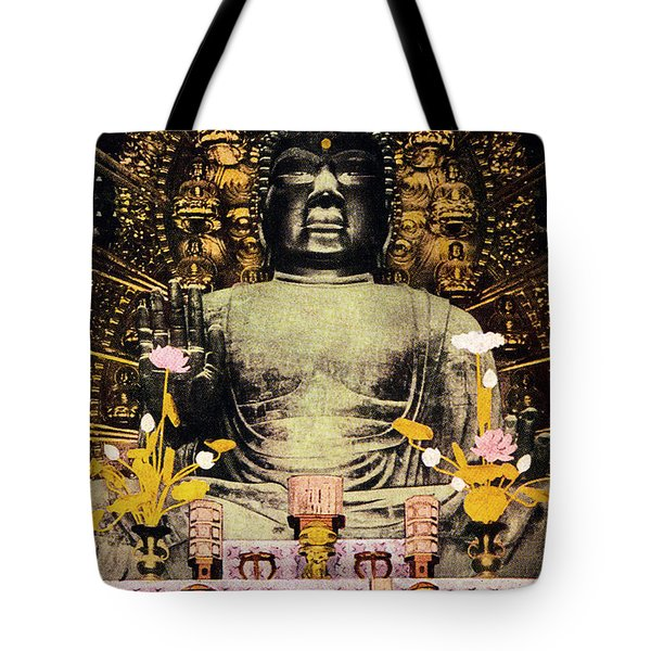 Vintage Japanese Art 24 Tote Bag by Hawaiian Legacy Archive - Printscapes