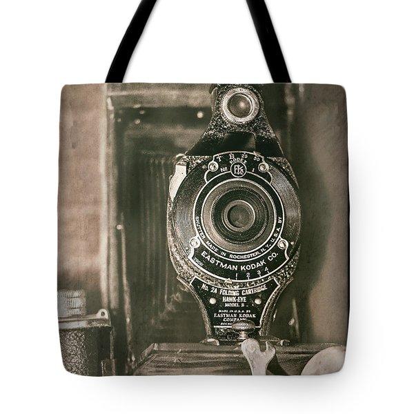 Vintage Kodak Camera Tote Bag