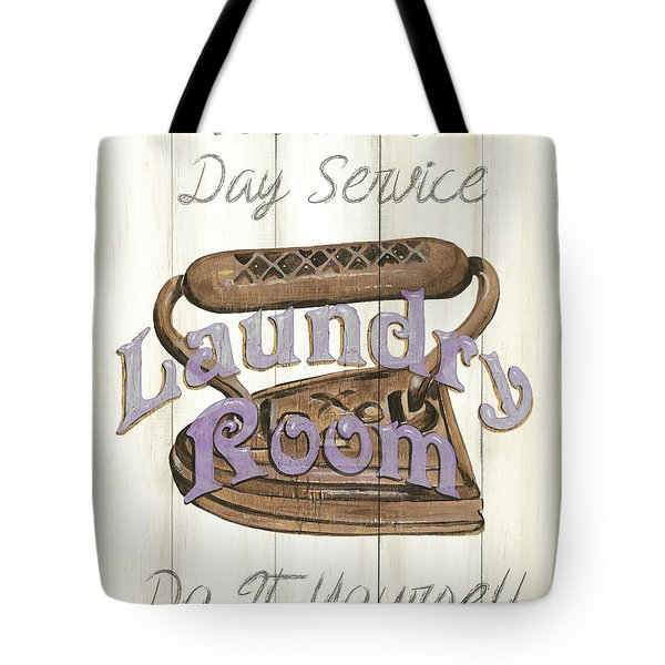 Vintage Laundry Room 1 Tote Bag