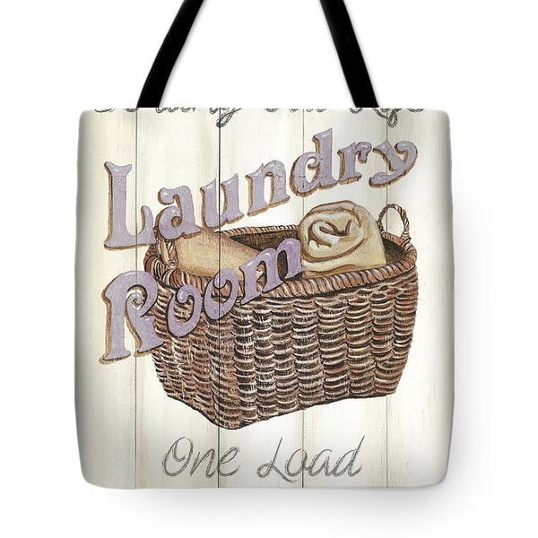 Vintage Laundry Room 2 Tote Bag