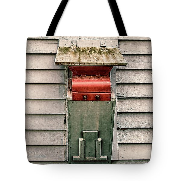 Tote Bag featuring the photograph Vintage Mailbox by Gary Slawsky