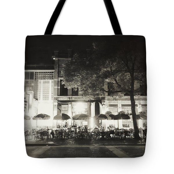 Vintage Main Street Minneapolis Tote Bag