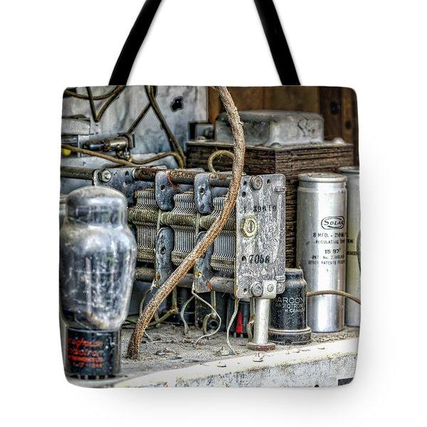 Vintage Marconi Tote Bag