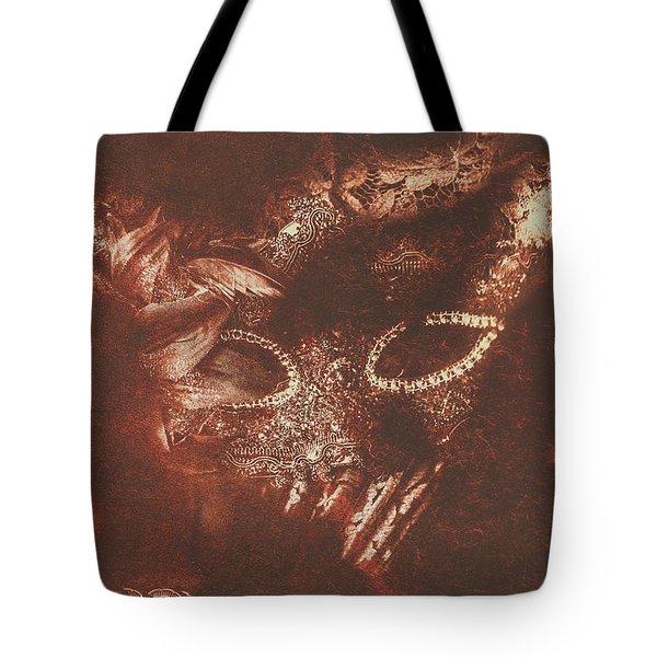 Vintage Masquerade Tote Bag