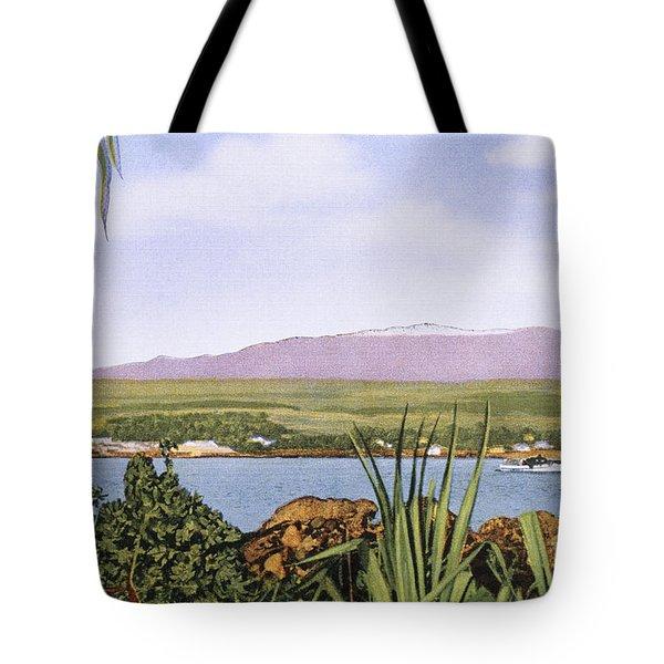 Vintage Mauna Kea Tote Bag by Hawaiian Legacy Archive - Printscapes