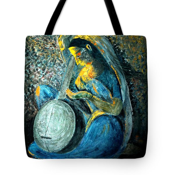Vintage - Meera - Singing For Krishna Tote Bag