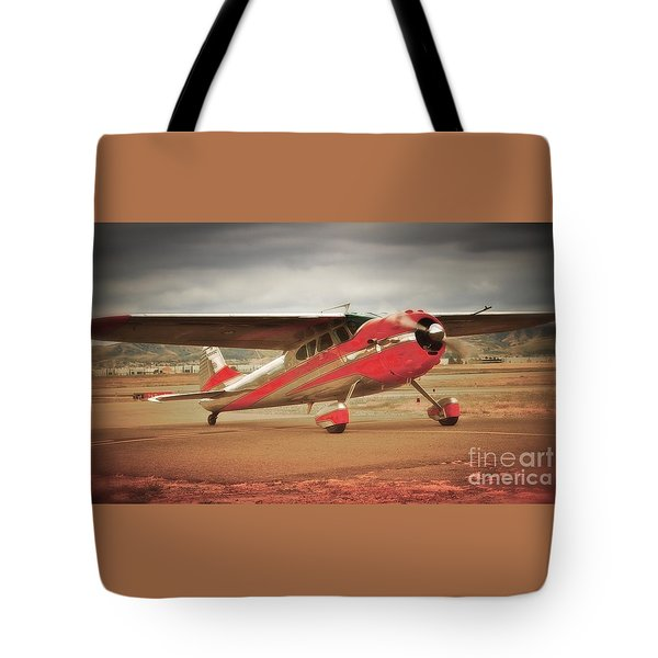 Vintage Monoplane Tote Bag