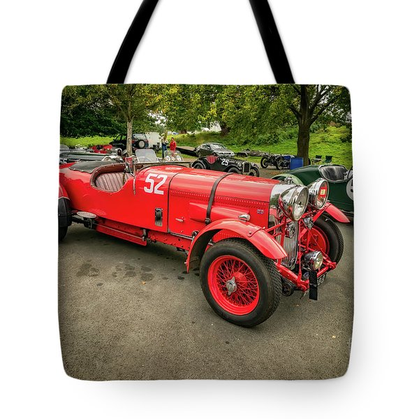 Tote Bag featuring the photograph Vintage Motors by Adrian Evans