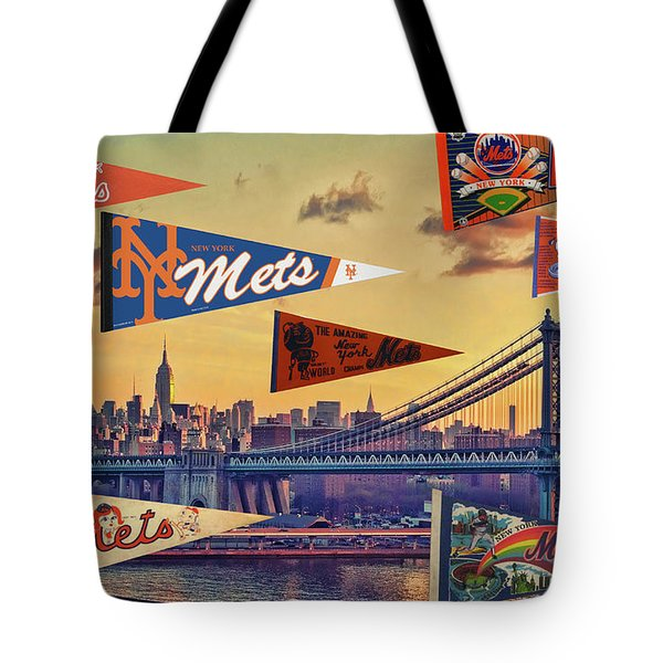 Vintage New York Mets Tote Bag