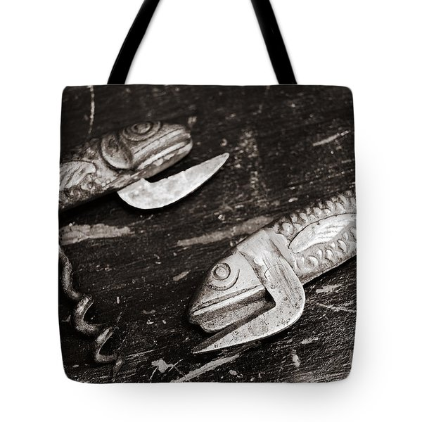 Tote Bag featuring the photograph Vintage Openers  by Andrey  Godyaykin