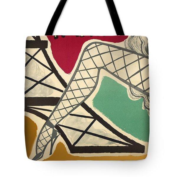 Vintage Paris Cabaret Tote Bag