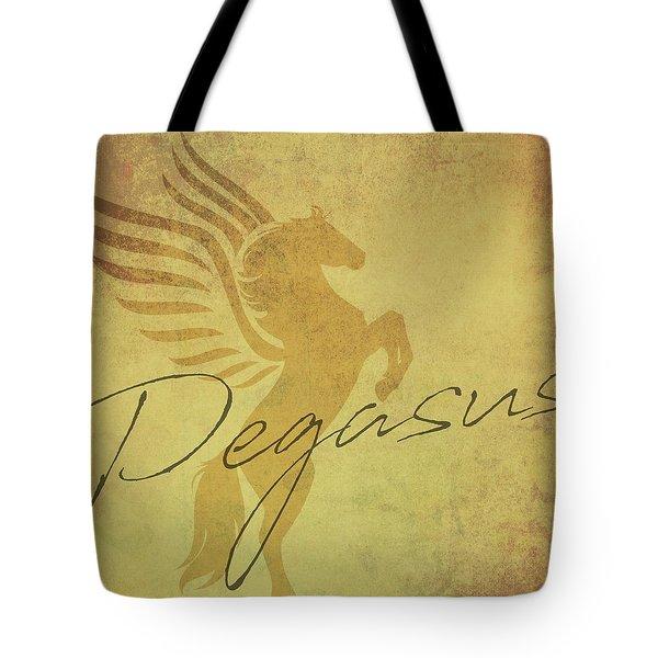 Vintage Pegasus Tote Bag