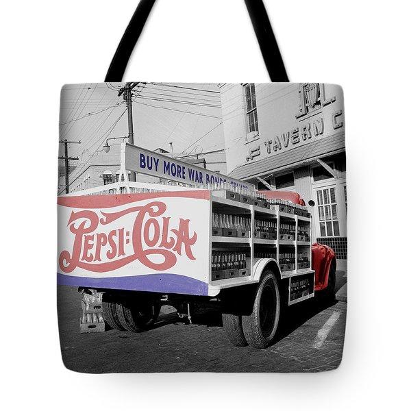 Vintage Pepsi Truck Tote Bag