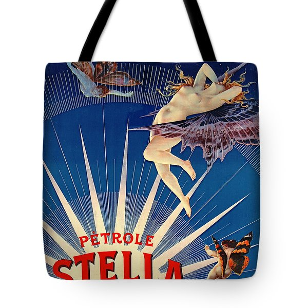 Vintage Petroleum Ad 1897 Tote Bag by Padre Art