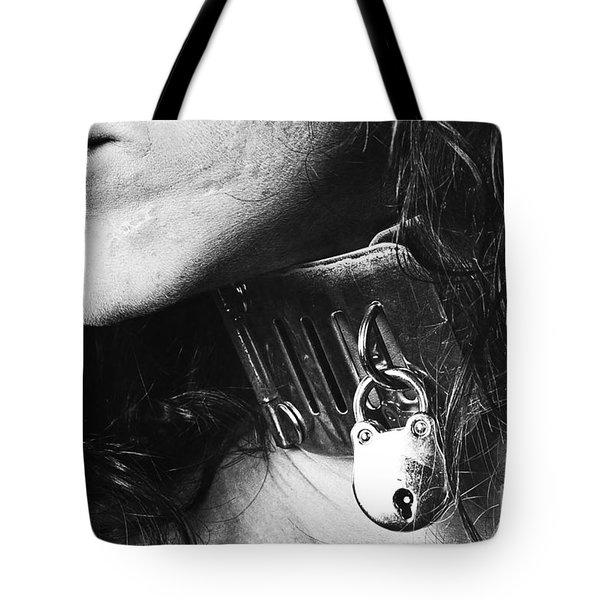 Vintage Portrait Tote Bag