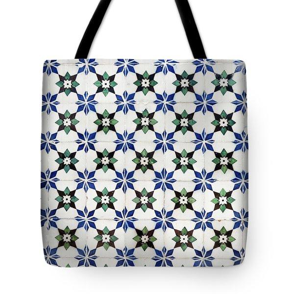 Vintage Portuguese Tiles Tote Bag