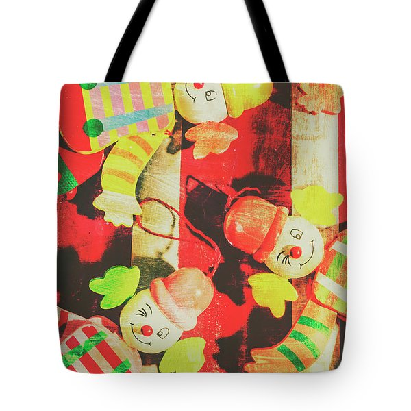 Tote Bag featuring the photograph Vintage Pull String Puppets by Jorgo Photography - Wall Art Gallery