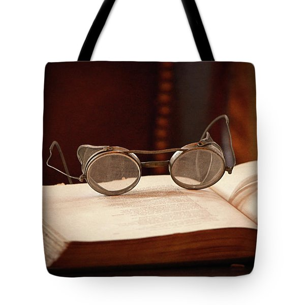 Vintage Reading Glasses  Tote Bag