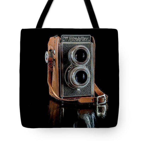 Vintage Ricohflex Camera Tote Bag