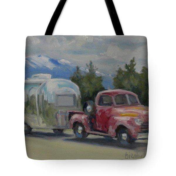 Vintage Rig Tote Bag