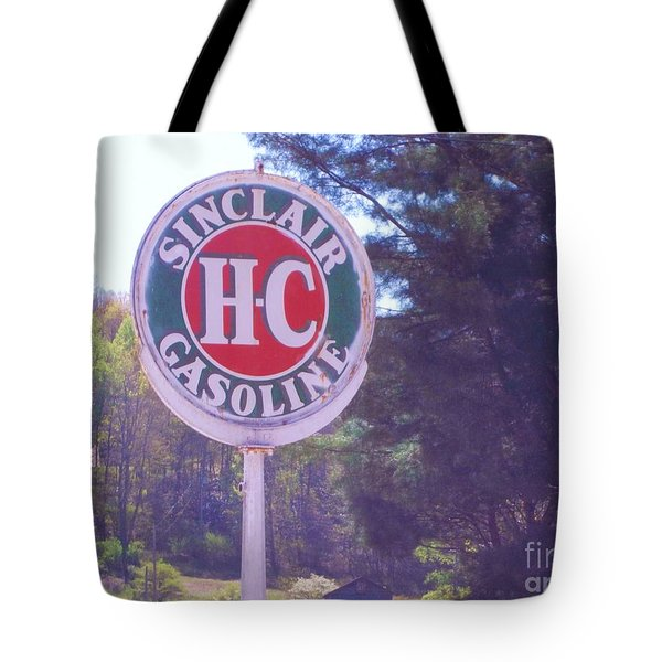 Vintage Roadside 4 Tote Bag