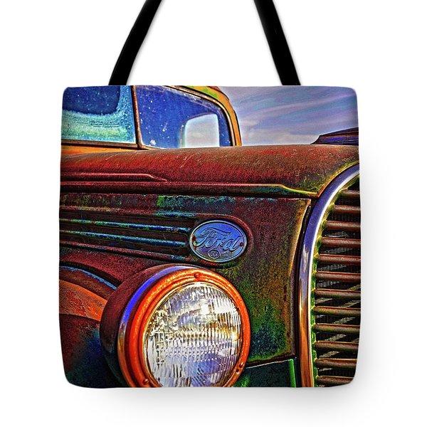 Vintage Rust N Colors Tote Bag