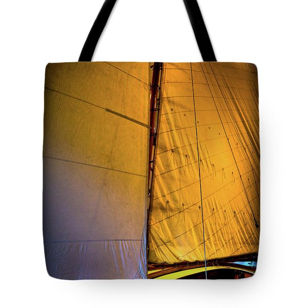 Tote Bag featuring the photograph Vintage Sailboat by David Patterson