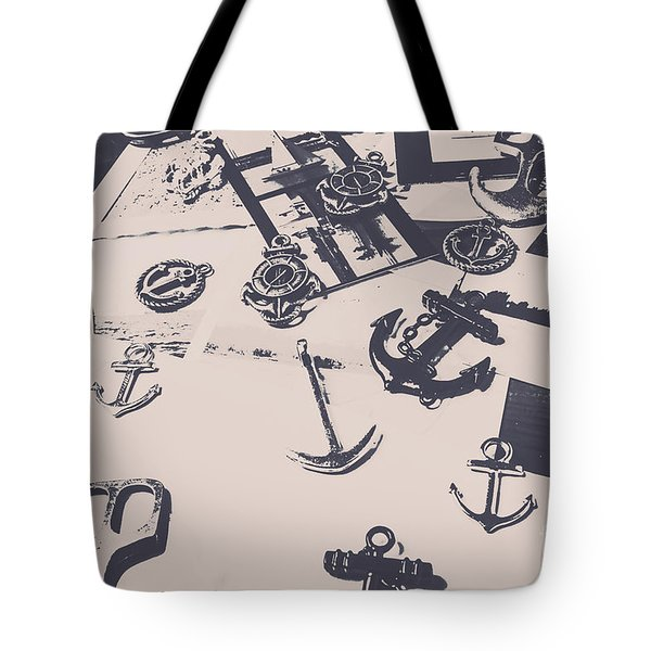 Vintage Sailing Art Tote Bag