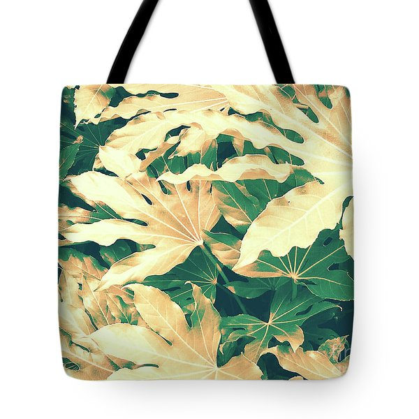 Tote Bag featuring the photograph Vintage Season Gold by Rebecca Harman