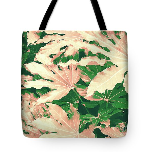 Tote Bag featuring the photograph Vintage Season Pink by Rebecca Harman