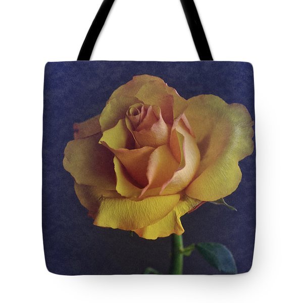 Tote Bag featuring the photograph Vintage Single Rose by Richard Cummings