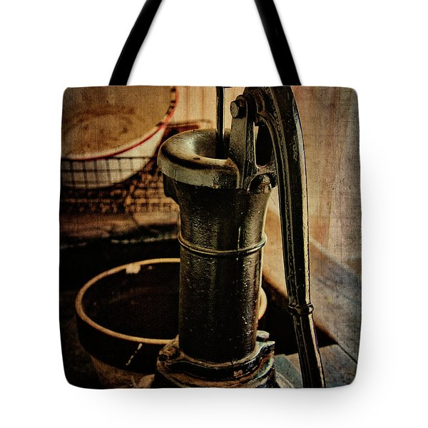 Vintage Sink Tote Bag by Lana Trussell