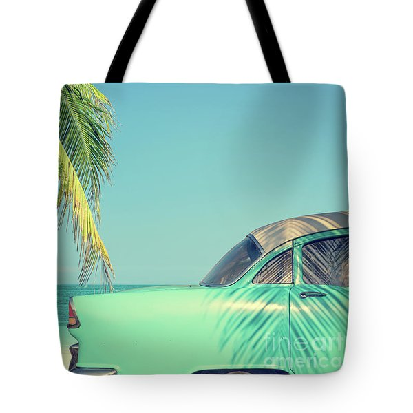 Tote Bag featuring the photograph Vintage Summer by Delphimages Photo Creations
