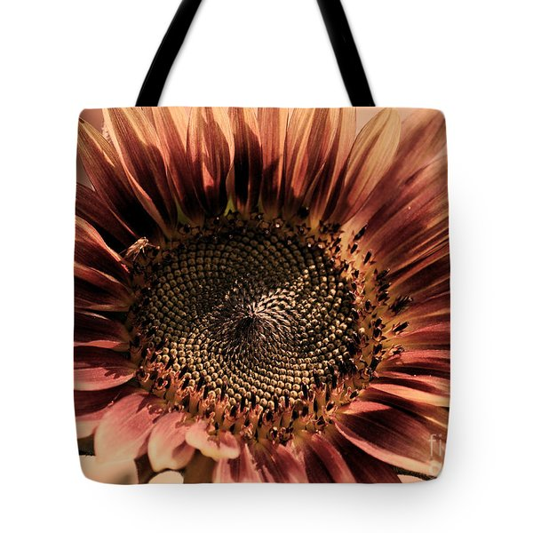 Vintage Sunflower Tote Bag