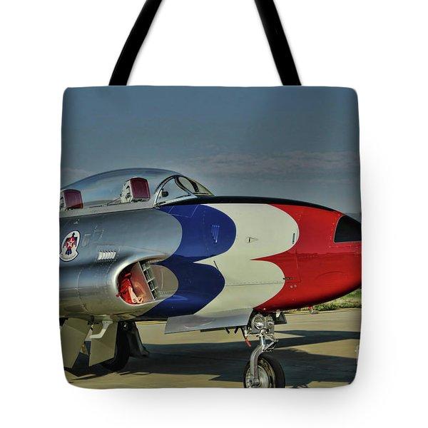 Vintage Thunderbird Tote Bag