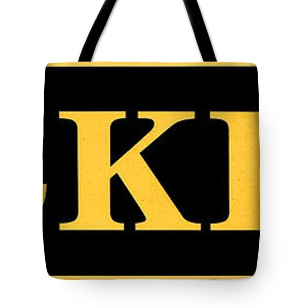 Vintage Tickets Sign Tote Bag