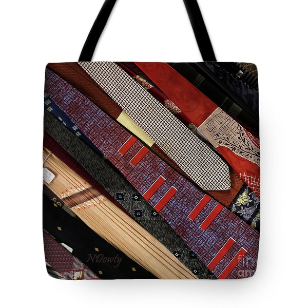 Vintage Ties Tote Bag