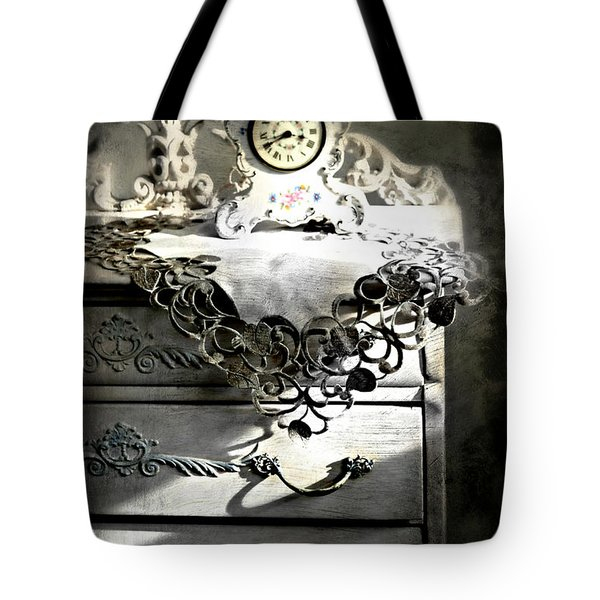 Tote Bag featuring the photograph Vintage Time by Diana Angstadt