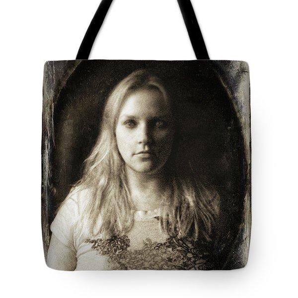 Vintage Tintype Ir Self-portrait Tote Bag