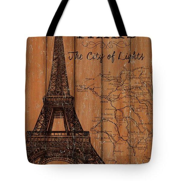 Vintage Travel Paris Tote Bag