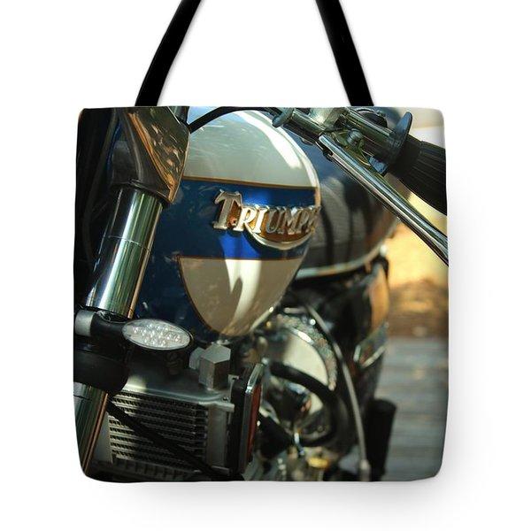 Vintage Triumph  Tote Bag