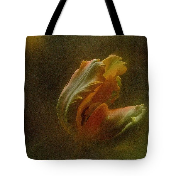 Tote Bag featuring the photograph Vintage Tulip March 2017 by Richard Cummings