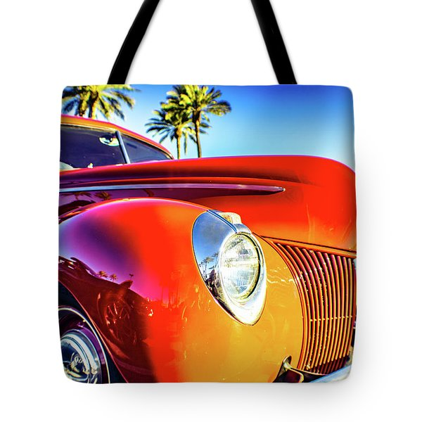 Vintage Vibrance Tote Bag