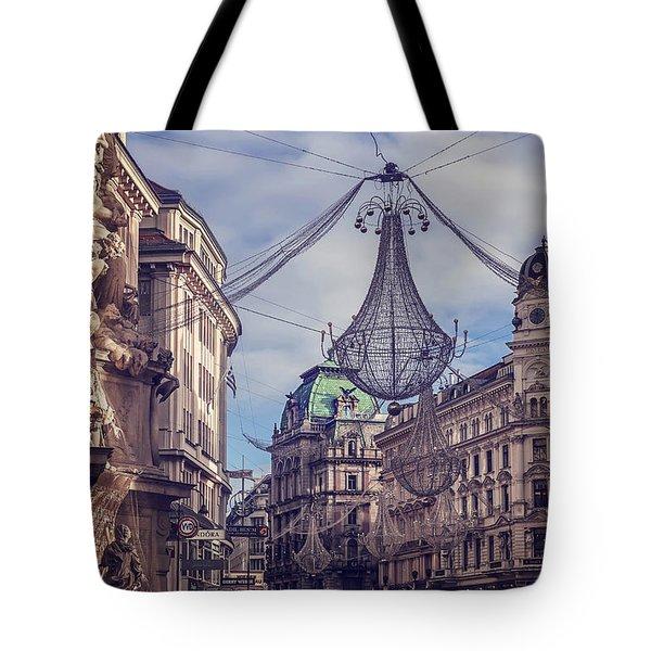 Vintage Vienna Tote Bag by Carol Japp