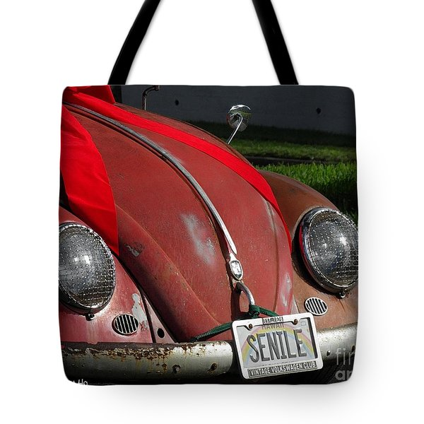 Vintage Volkswagen Tote Bag
